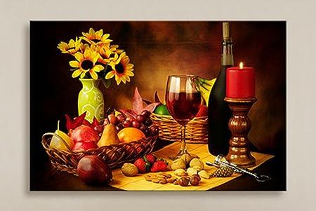 Xylucky Wine Decorative Painting Led Light Fiber Painting Modern