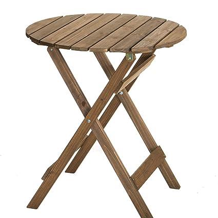 LINA Petite Table Pliante Portable Ronde et chaises Table ...