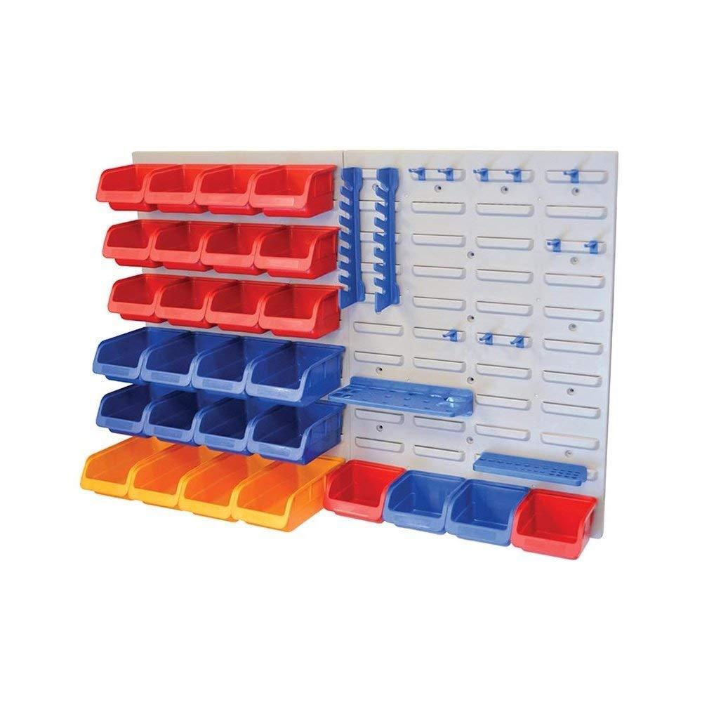 Faithfull BD25PRO - Organizador de herramientas para pared (43 piezas) PAN43