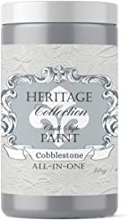 Cobblestone, Heritage Collection All In One Chalk Style Paint (NO WAX!) (32oz)