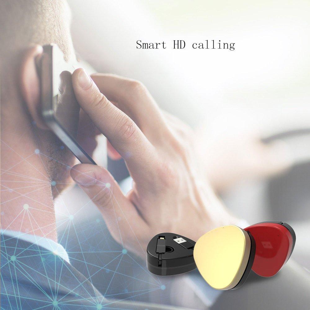 JUFENG GPS Tierfinder Mini Mini Wasserdichte Starke Magnetische Magnetische Starke Smart RF Monitor,Gelb 41f440