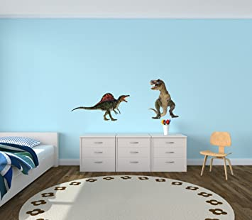 Attirant Giant Dinosaur Wall Decals, Reusable Wall Stickers, Realistic