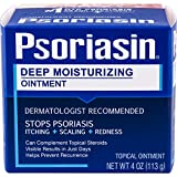Psoriasin—Deep Moisturizing Ointment—4 oz Jar—Helps to Relieve Itching, Flaking, Redness, Scaling and Discomfort Associated with Psoriasis