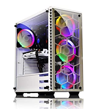 Kolink Observatory Atx Mid Tower Rgb Led Tempered Glass Amazon Co