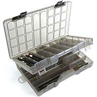 MIDDY Men's Commercial/Continental Carp Lake Multiuse Fishing Box - Transparent