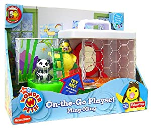 Amazon.com: Fisher-Price Wonder Pets Portable Playsets Ming Ming: Toys