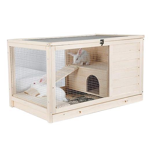 Casetas para perros Casa De Mascotas Jaula Para Conejos Jaula De ...