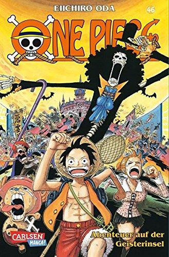 One Piece, Band 46: Abenteuer auf der Geisterinsel Taschenbuch – 29. Februar 2008 Eiichiro Oda Josef Shanel Matthias Wissnet Carlsen Manga