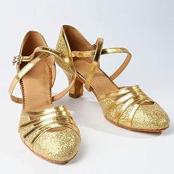 8411ee32 Wawer Zapatos de Novia Mujer, tacón Alto, de satén, para Fiestas, Piel