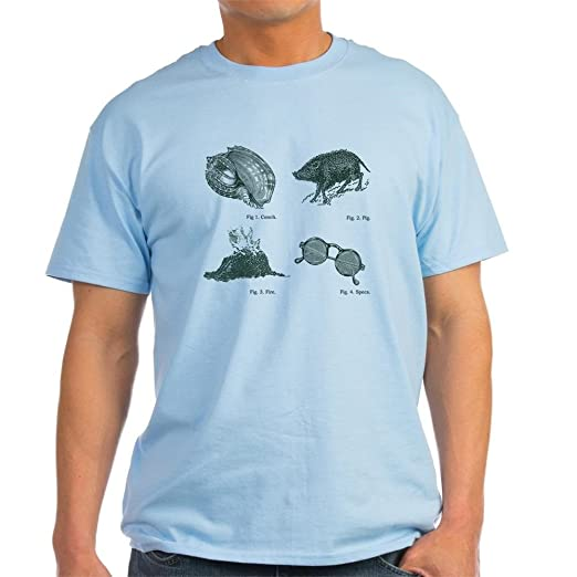 405a3efffeb6 Amazon.com: CafePress Lord of The Flies Light T-Shirt Cotton T-Shirt:  Clothing