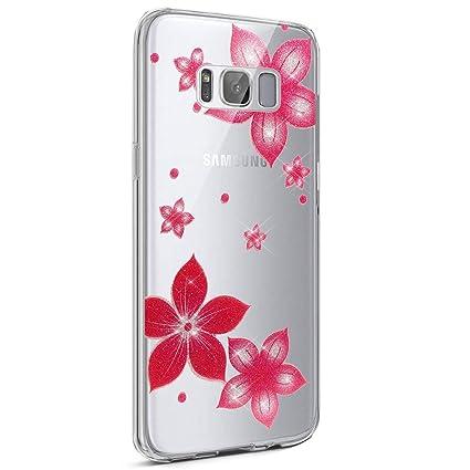 coque galaxy s8 fleur