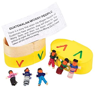 Worry Dolls in a Box: Toys & Games