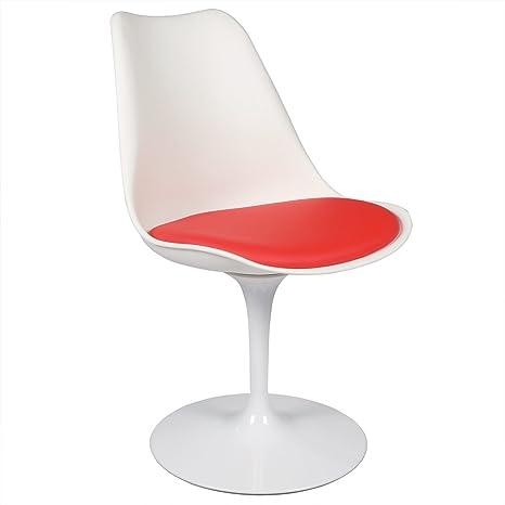 Wondrous Amazon Com Polivaz Eero Saarinen Style Tulip Chair Chairs Andrewgaddart Wooden Chair Designs For Living Room Andrewgaddartcom