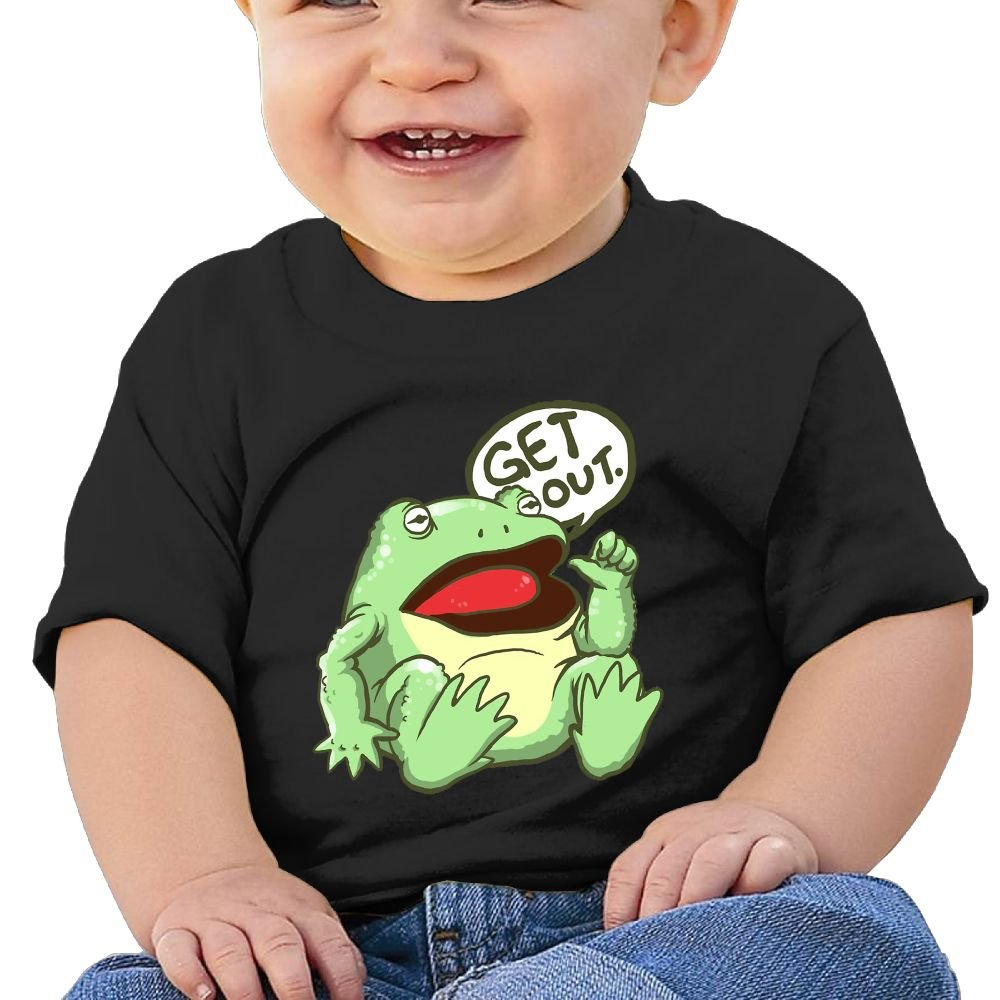 GET Out Baby Boy Clothes Short Sleeve Graphic Toddler T Shirt Boys Girls 6-24 Month