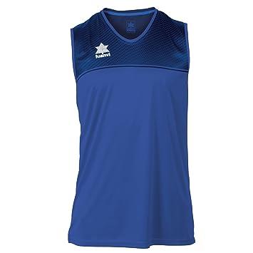 Luanvi Apolo Sra Camiseta Deportiva, Mujer, Azul, XXS