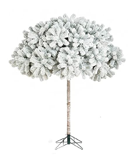 b9a850926ab6 OloreHome Umbrella Snow Flocked - 6ft Artificial Christmas Tree
