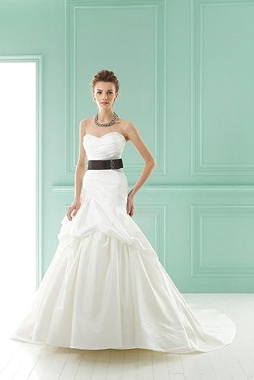 Amazon Com Princess Sweetheart Taffeta Ivory And Black Floor