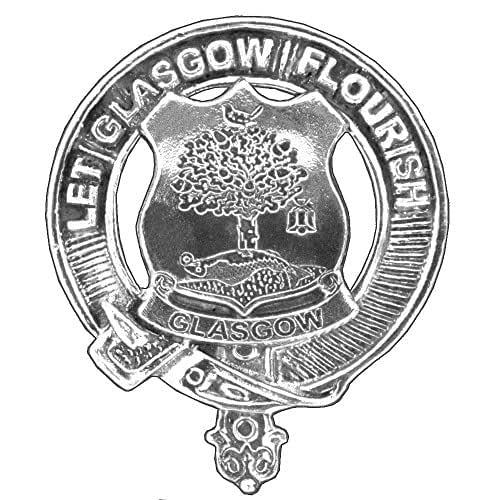 Amazon.com: City Of Glasgow Scottish Cap Badge: Handmade