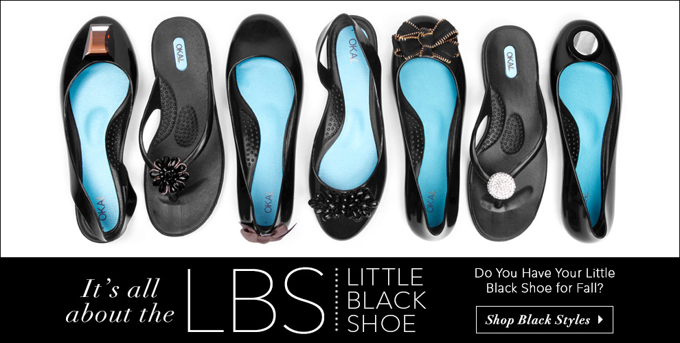Little Black Shoes Banner