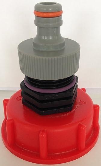 Garten IBC Tank Adapter Werkzeuge Regenwasser Verbindung Zubehör Ersatz