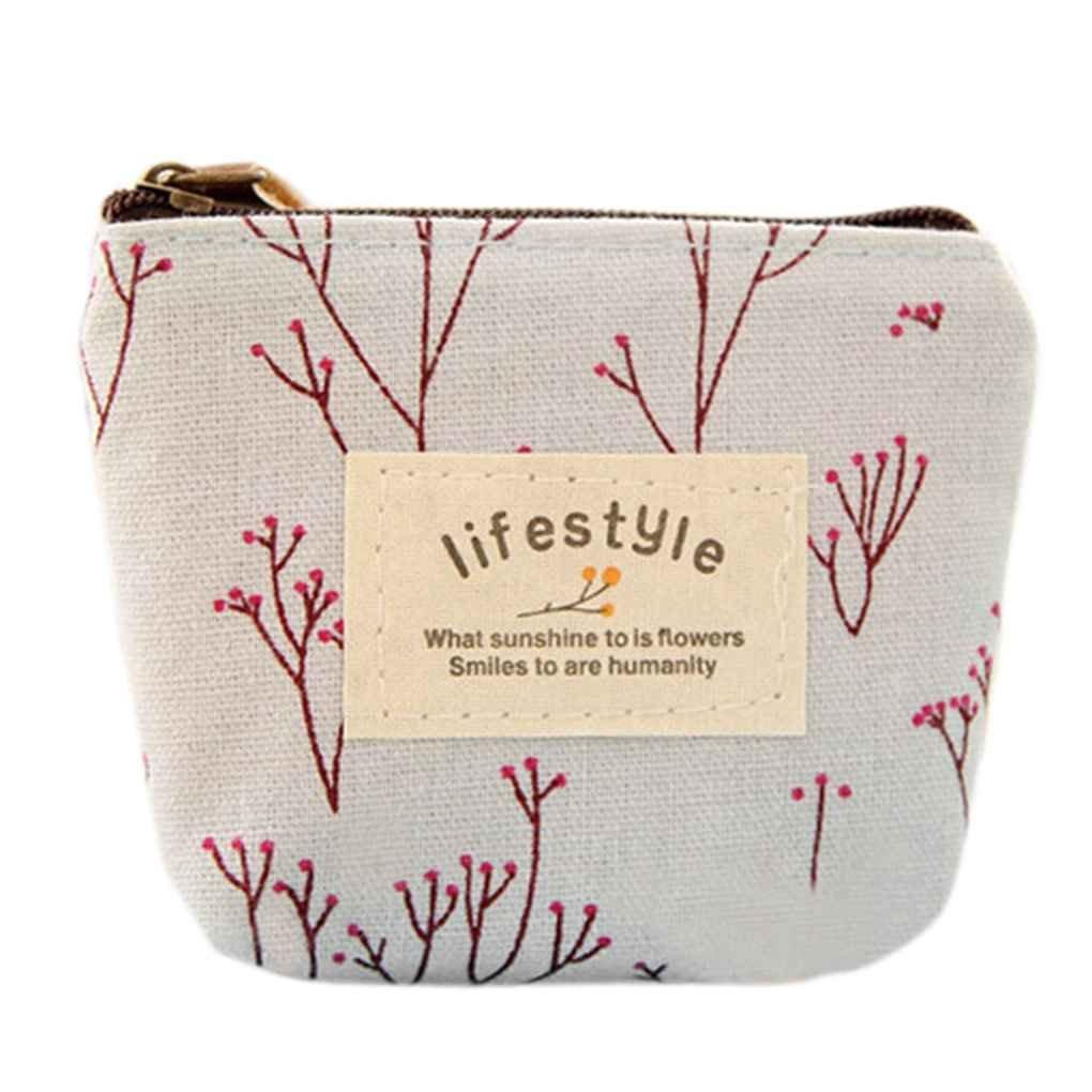 Topker Mini-sacs à main en toile florale rose