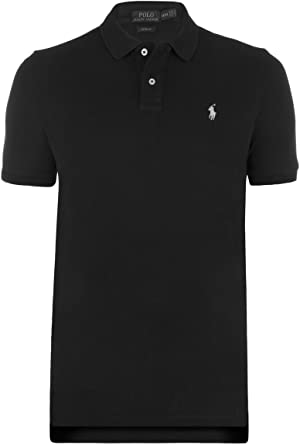 Ralph Lauren Polo Small Pony, Custom Fit, Nuevo. Schwarz/weiß Pony ...