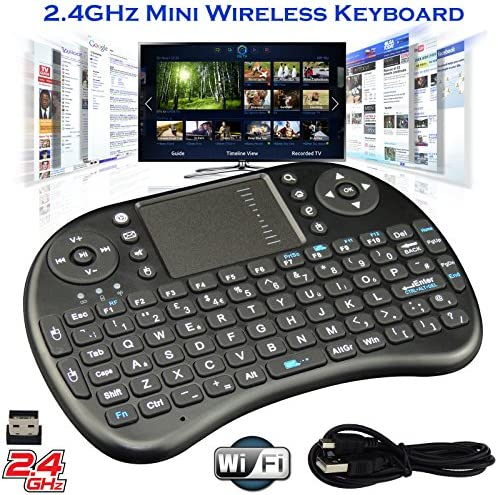 2.4G Mini Wireless KODI XBMC Keyboard Touchpad Mouse Combo: Amazon.es: Electrónica