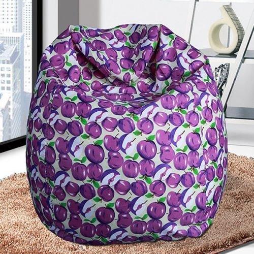 Bean Bags Chairs, Bean Bags Bulk Unisex New BeanBag Indoor Bean Bag Sofa Lounge Chair, Bean Bags For Kids (Purple)