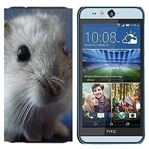 - Hamster - - Cubierta del caso de impacto con el patr??n Art Designs FOR HTC Desire EYE M910x Queen Pattern
