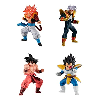 Gashapon Dragon Ball Super: GT 04 HG Series Set: Toys & Games