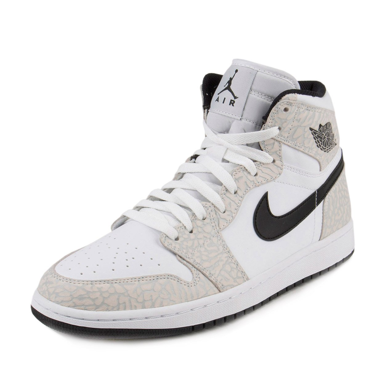 Nike Men's Air Jordan 1 Retro High White Pure Platinum