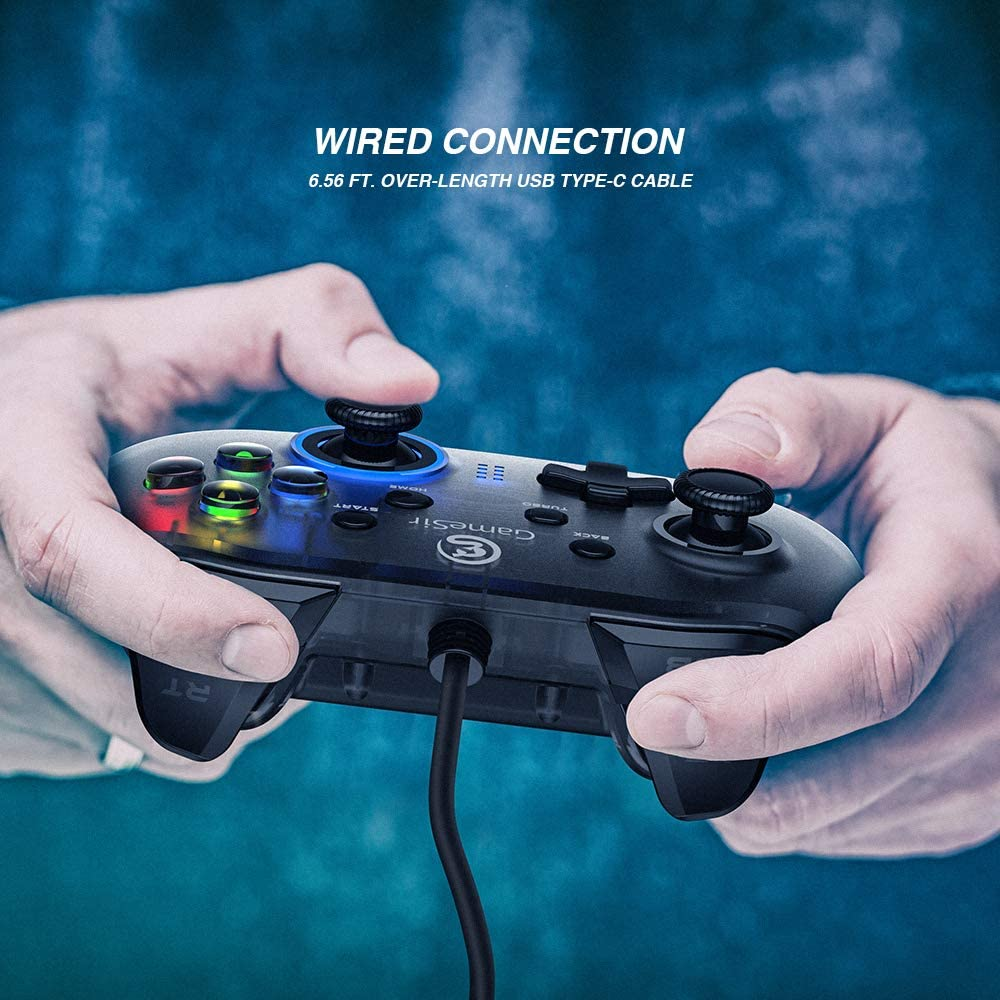 Amazon com: Wired PC Game Controller, GameSir T4w for Windows 7/8