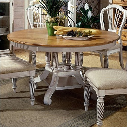 Hillsdale Wilshire Wood - Hillsdale Furniture 4508DTBRND Wilshire Round Oval Dining Table