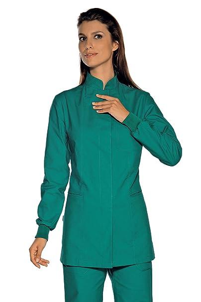 Isacco-túnica médica verde Puños precisas 100% algodón: Amazon.es: Ropa y accesorios
