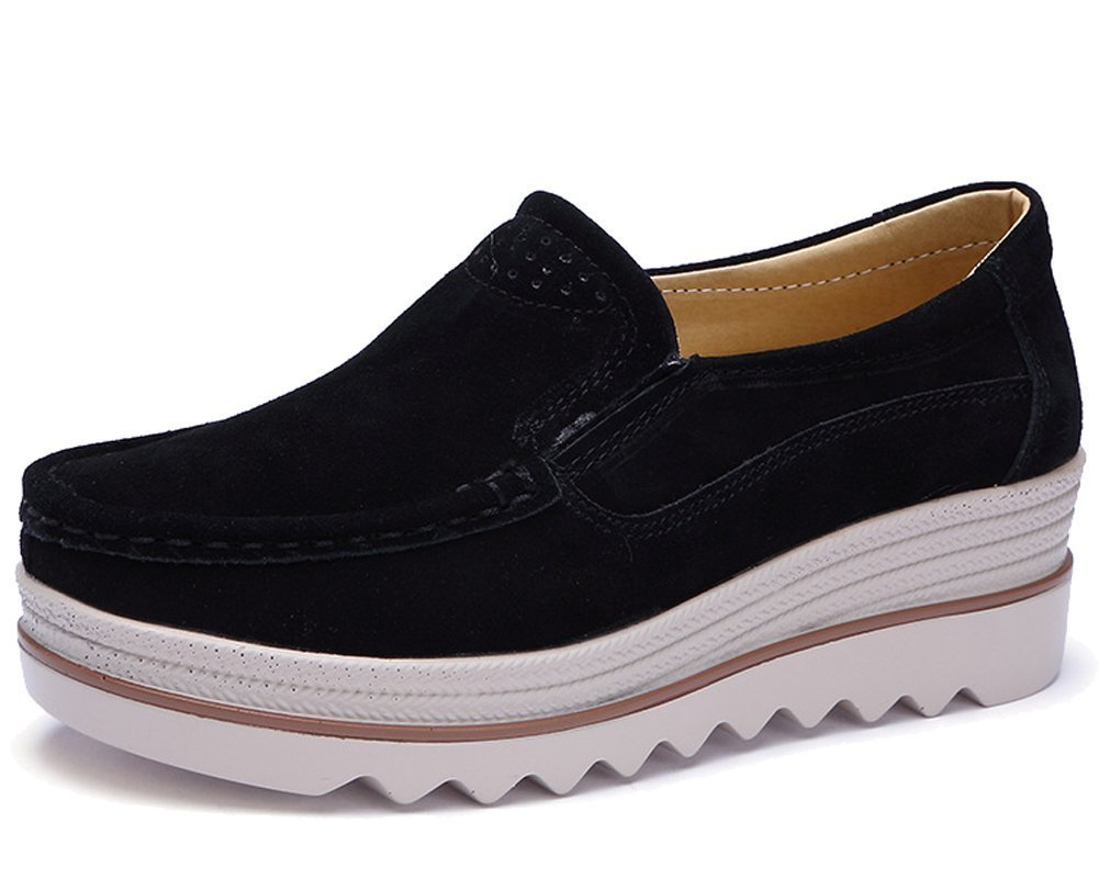 HiTime Femme Espadrilles Femme B01N1RZ52P Black HiTime (slip-on) 744dc0f - fast-weightloss-diet.space