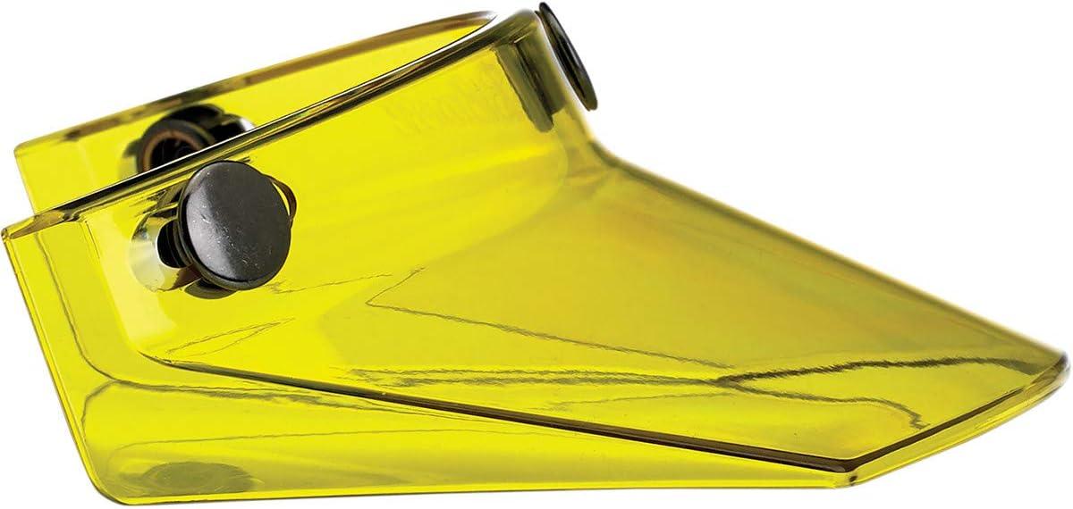 MV-YEL-00-TN Biltwell Yellow Translucent Three Snap Visor