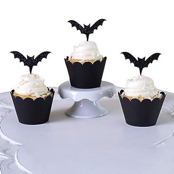 Petalum Lot De 12 Caissettes De Decoration Pour Cupcakes En Papier