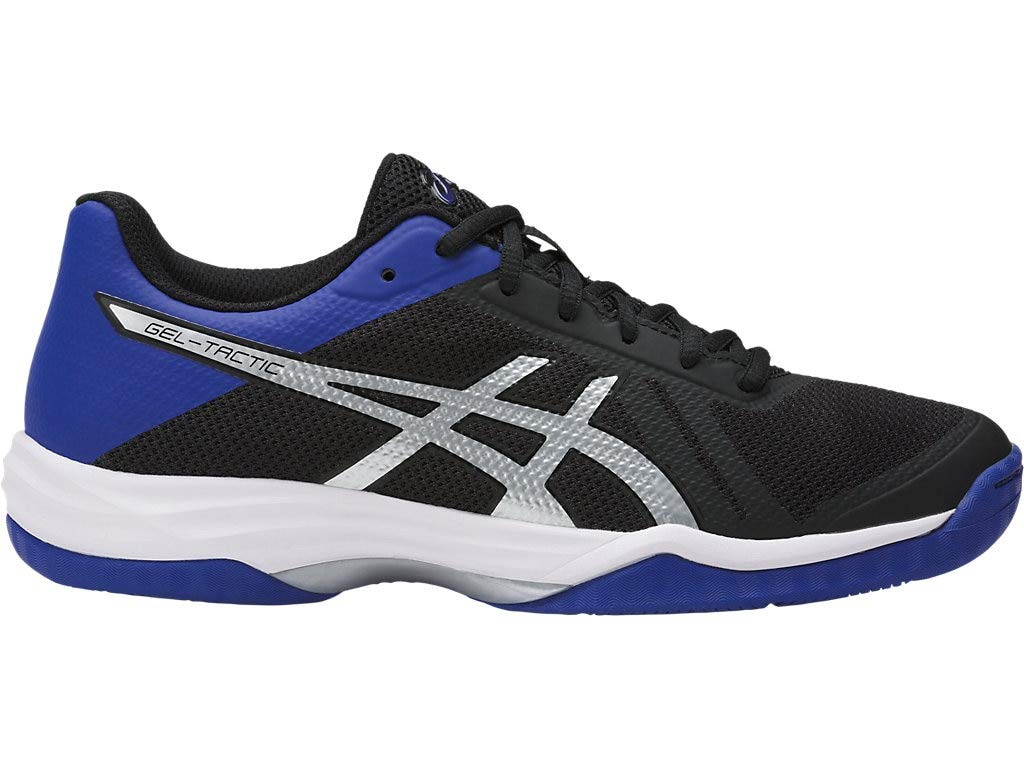 ASICS Womens Gel-Tactic 2 Volleyball Shoe, Black Blue/Silver, 9 Medium US by ASICS