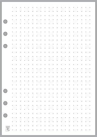 This is an image of Free Printable Dot Grid Paper throughout layout grid
