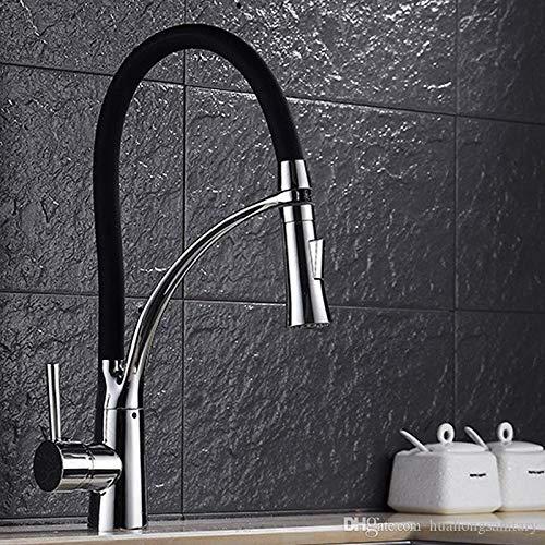 Decorry Öl Eingerieben Bronze Finish Schwenkauslauf Küchenarmatur Drehbare Auslauf Design Für Küche Waschen Mischbatterie