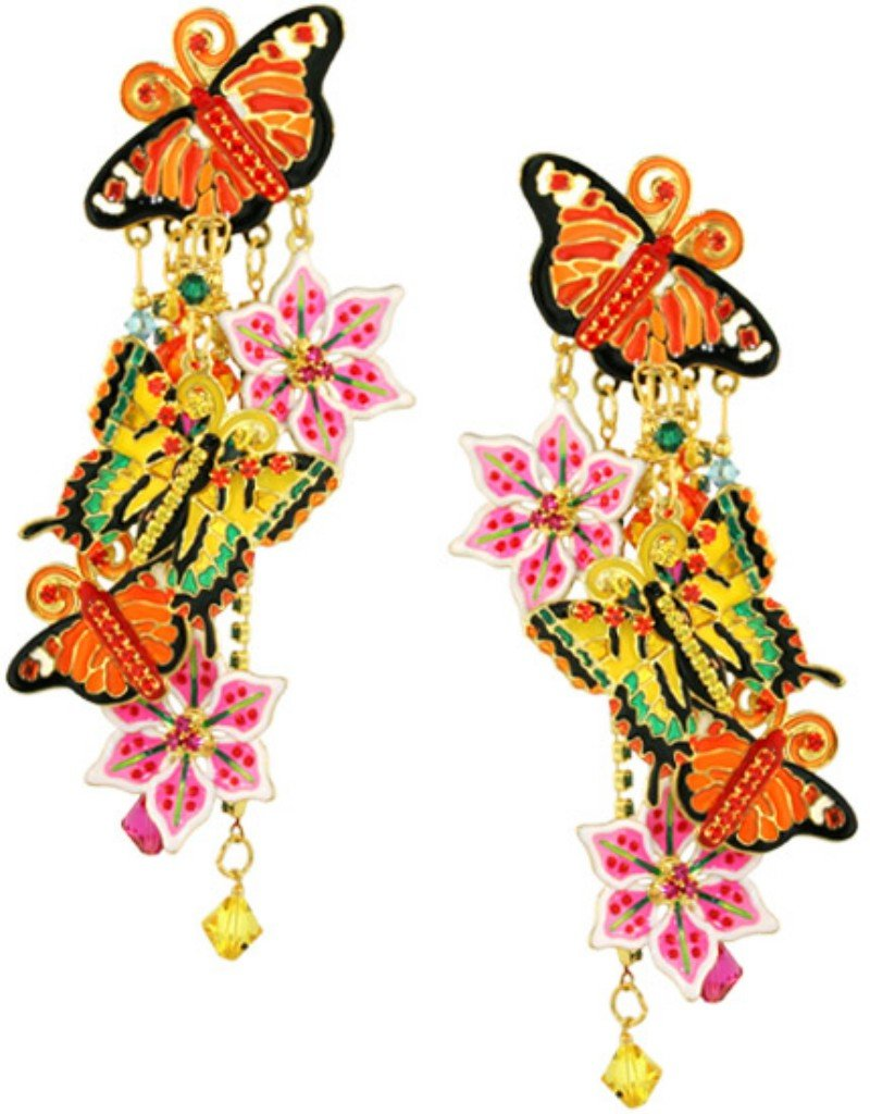 Lunch at The Ritz 2GO Summertime Earrings Posts