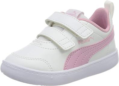 PUMA Courtflex V2 V Inf, Basket Mixte bébé: