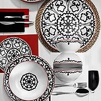 Kütahya Porselen Zeugma 596612 Desen 6 Kişilik 24 Parça Yemek Seti