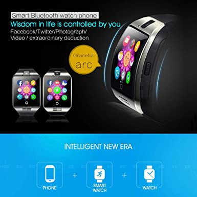 Amazon.com: Leegoal Reloj Inteligente Bluetooth Impermeable ...