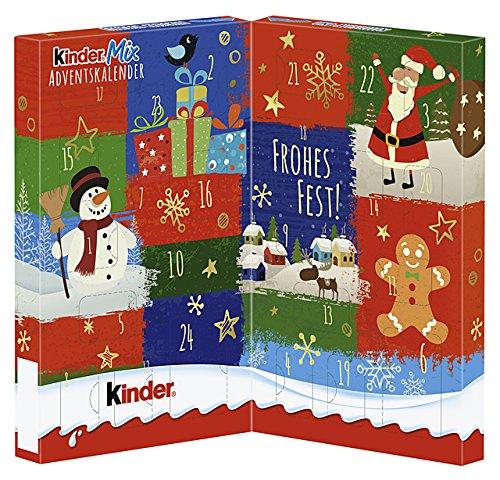 Calendario Avvento Kinder Prezzo.Kinder Mix Tavolo Calendario Dell Avvento 127g
