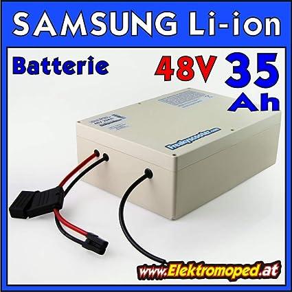 FREAKYSCOOTER 48 V 35 Ah Samsung 35E batería de Litio - Ion ...