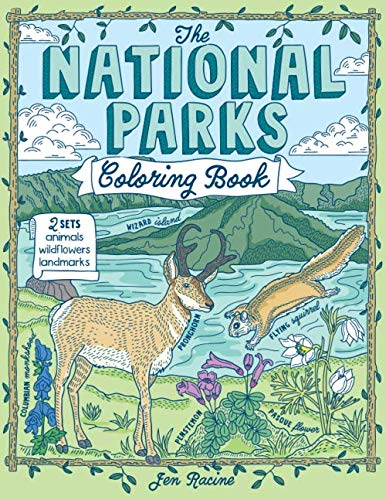 A fun and educational coloring book for kids and adults!Featuring 24 of the most popular and scenic parks in the US including Yellowstone, the Grand Canyon, Zion, Olympic, Acadia and more, The National Parks Coloring Book, is full of fun, unique and ...