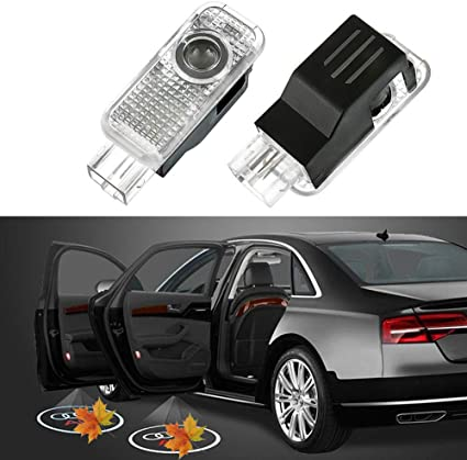 Proyector de luces LED para puerta de coche, fácil de instalar ...