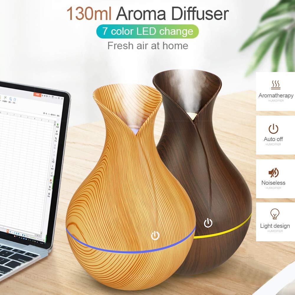 Chollo Difusor de Aromaterapia de madera por 8,49 euros (Cupón Descuento) 2 difusor de aromaterapia