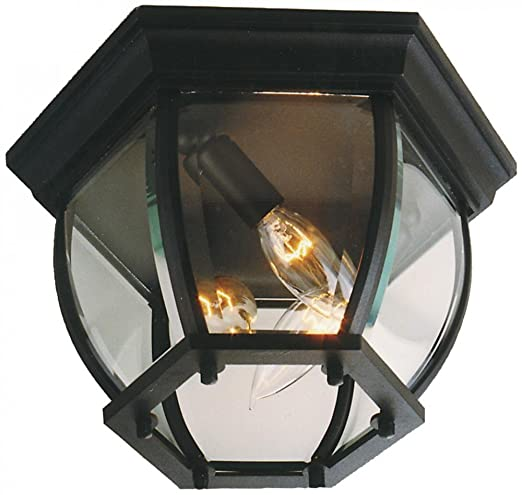 Craftmade z433 05 outdoor flush mount light with beveled glass craftmade z433 05 outdoor flush mount light with beveled glass shades matte black finish workwithnaturefo